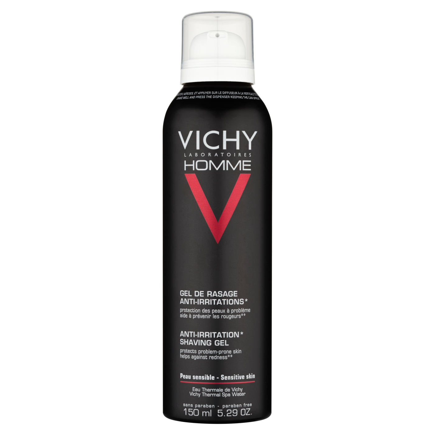 Image of   Vichy Homme Shaving Foam - 200 ml