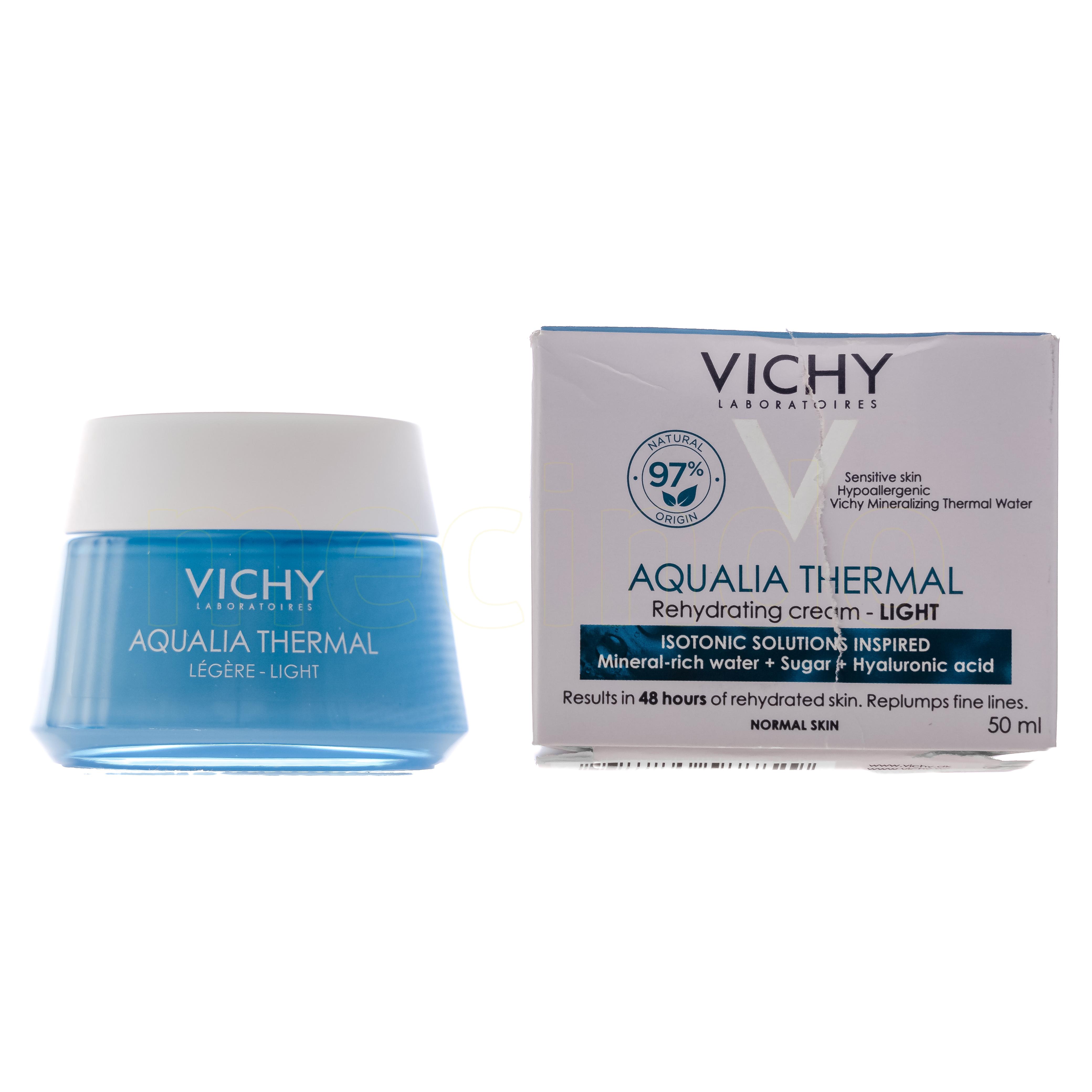 Image of   Vichy Aqualia Thermal Light Cream - 50 ml