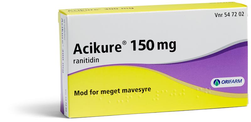 Billede af Acikure - 150 mg - 10 Tabl
