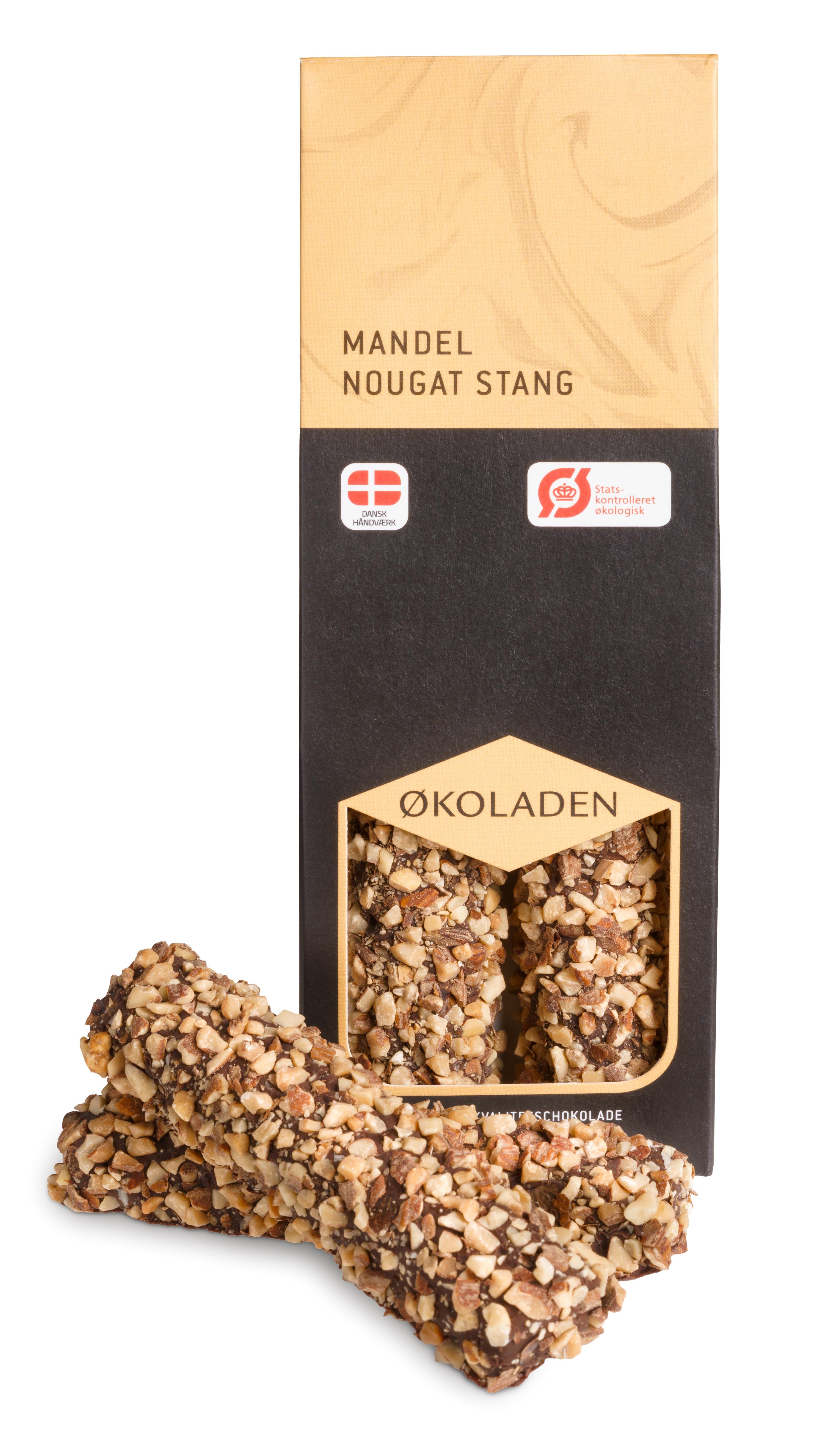Billede af Økoladen Mandelnougatstænger - 75 G