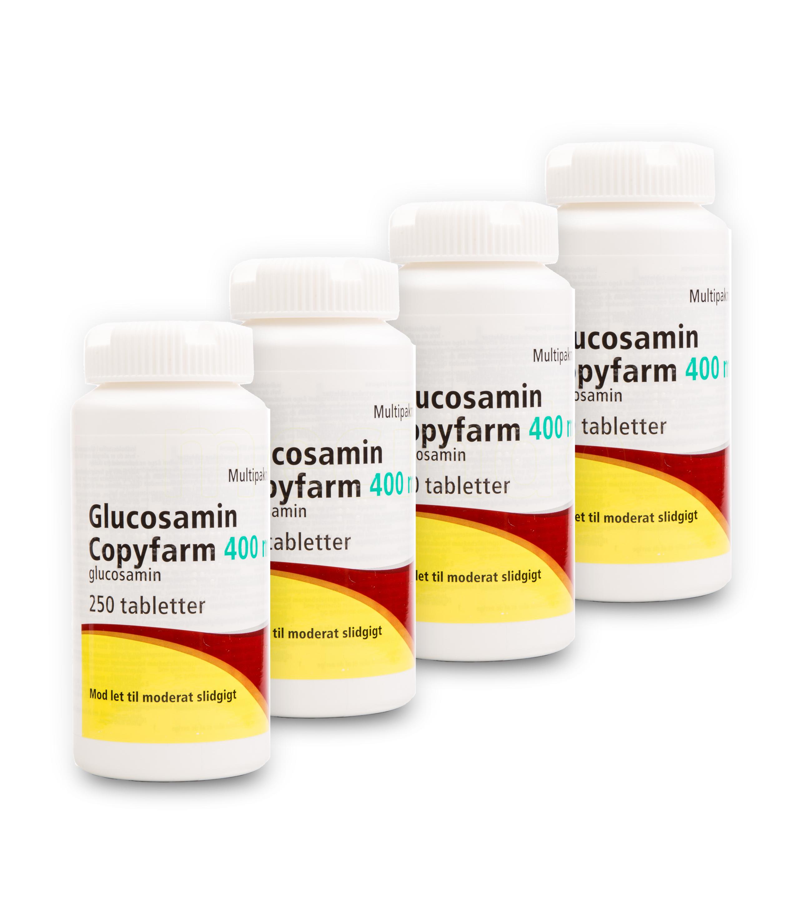 Billede af Glucosamin Copyfarm - 400 mg - 1000 Tabl
