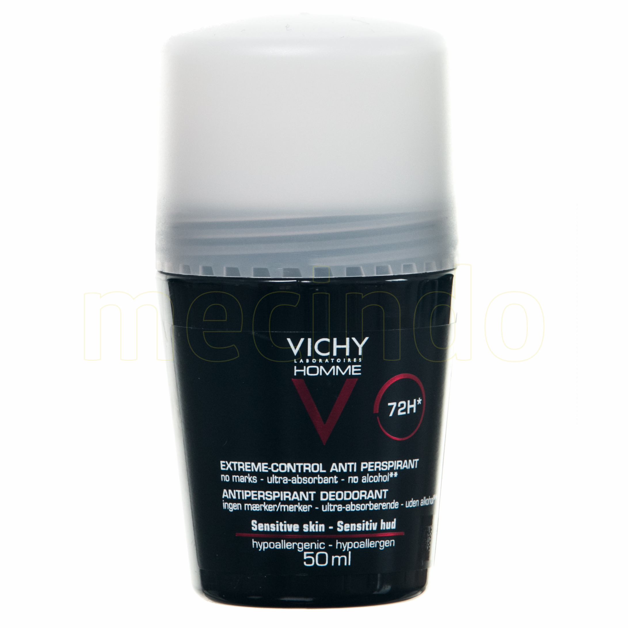 Image of   Vichy Homme Deo Roll-on 72H - 50 ml