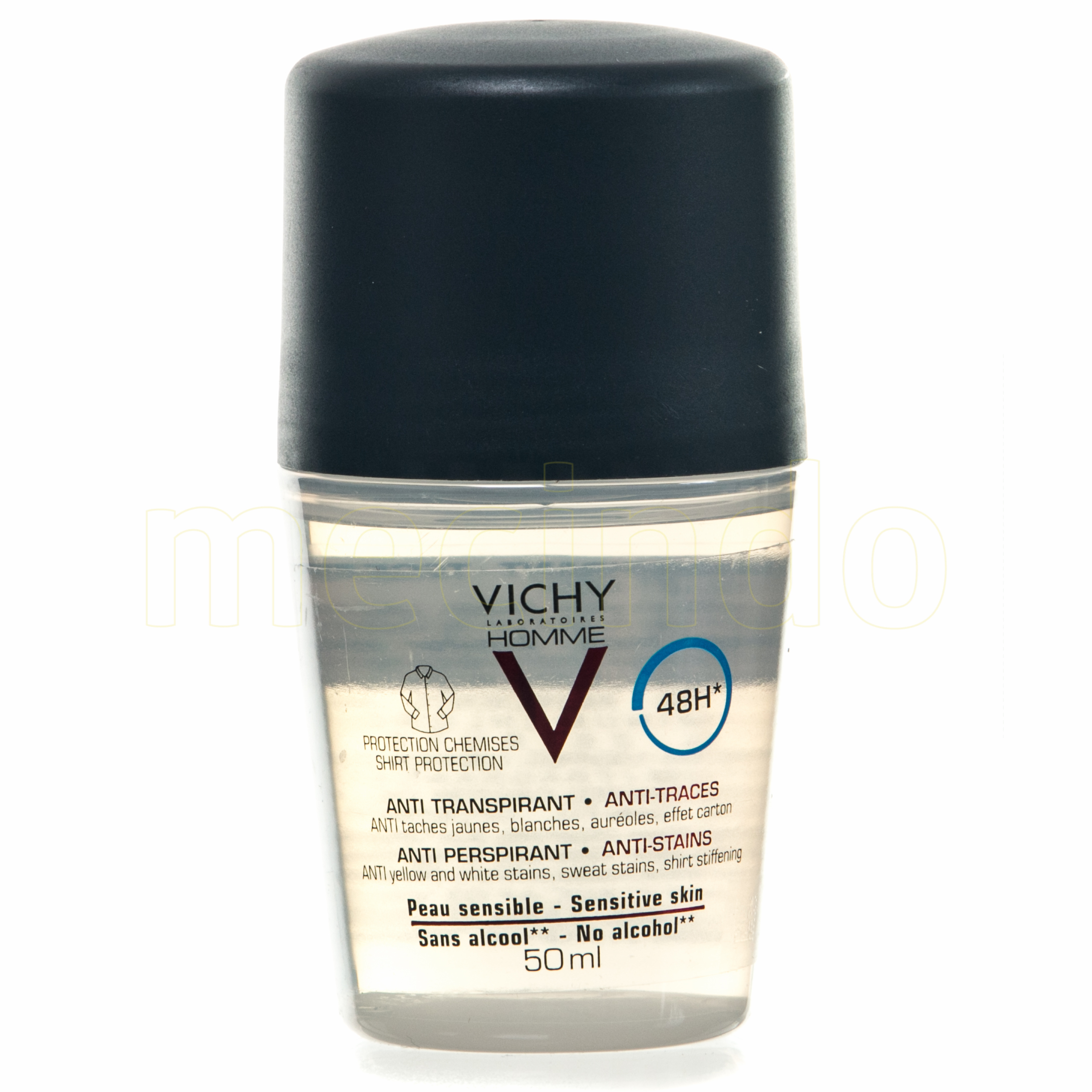 Image of   Vichy Homme Deo Shirt 48H - 50 ml