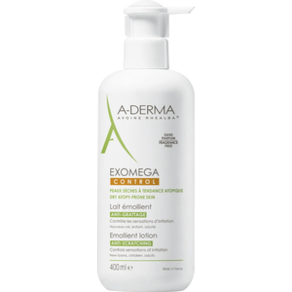 Image of   A-Derma Exomega Control Lotion - 400 ml