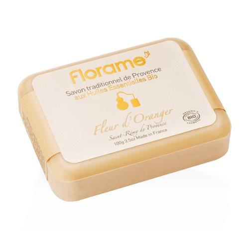 Image of   Florame Håndsæbe Orange Blossom fra Provence - 100 G