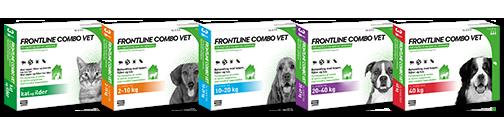Frontline Combo Hund 2-10 kg – 100 + 90 mg/m – 6 ml