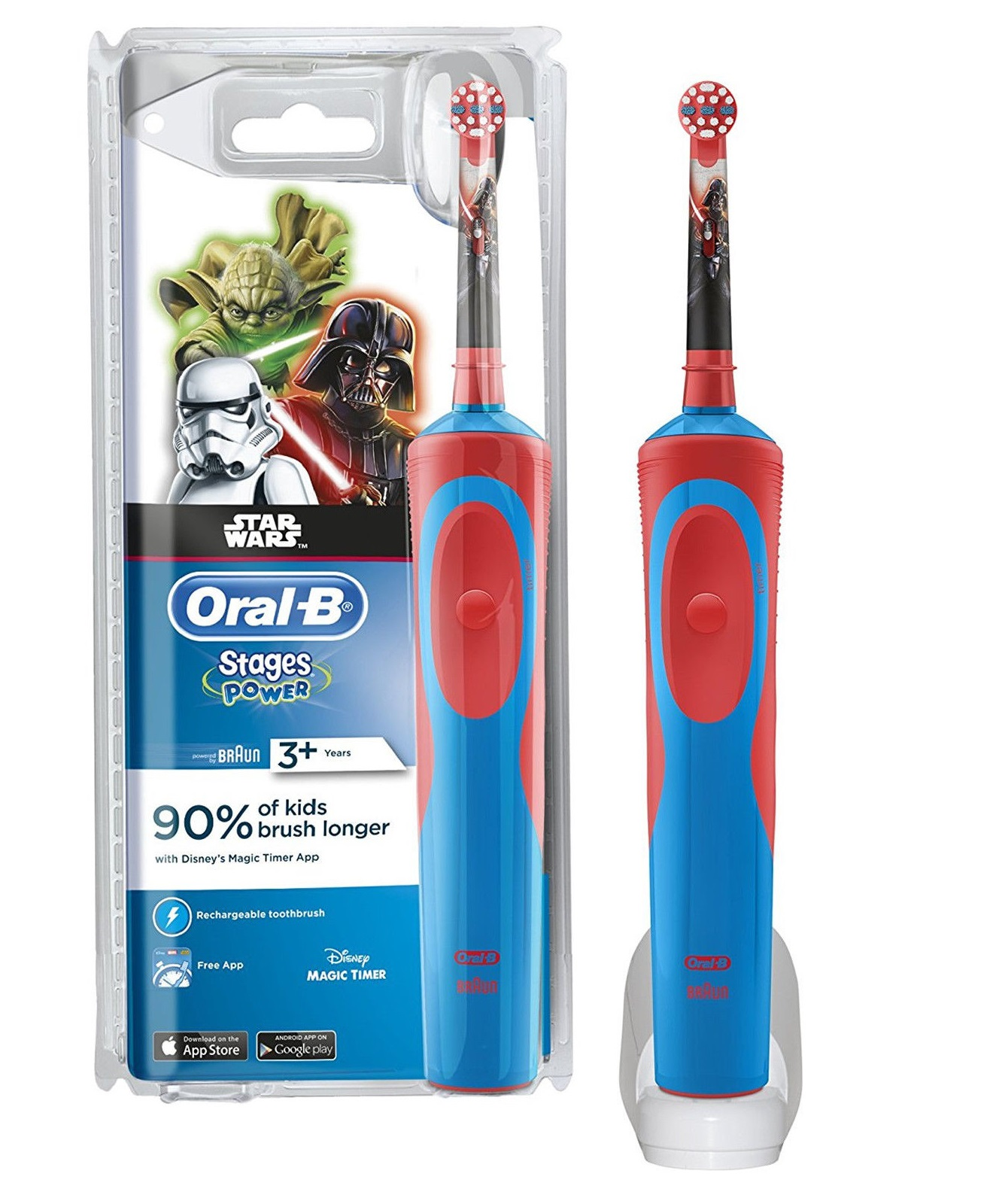 Image of   Oral-B Eltandbørste Star Wars - 1 Stk.