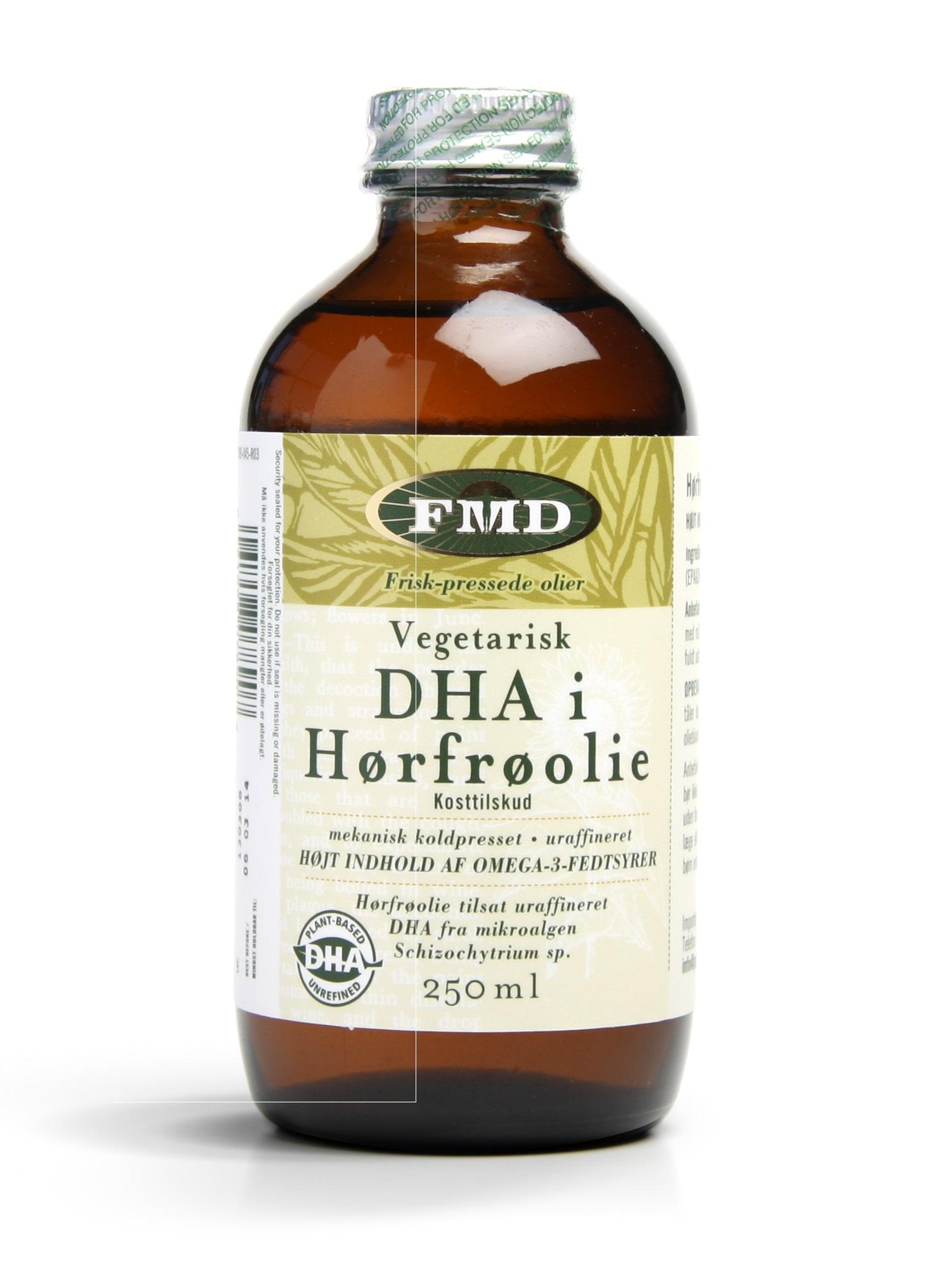 Udo s Choice DHA i Hørfrøolie - 250 ml