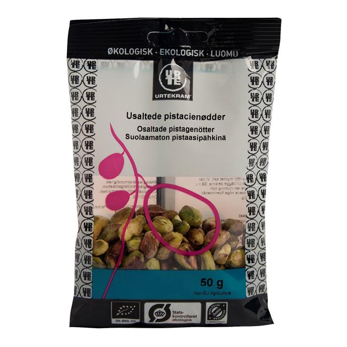 Urtekram pistacienødder fra Mecindo
