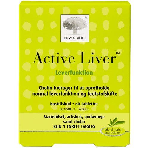 Billede af New Nordic Active Liver - 60 Tabl