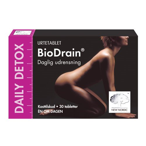 Billede af New Nordic Biodrain Daily Detox - 30 Tabl