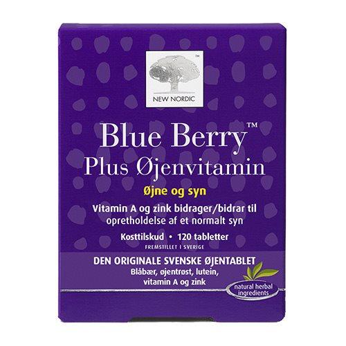 Billede af New Nordic Blue Berry Plus Øjenvitamin - 120 Tabl