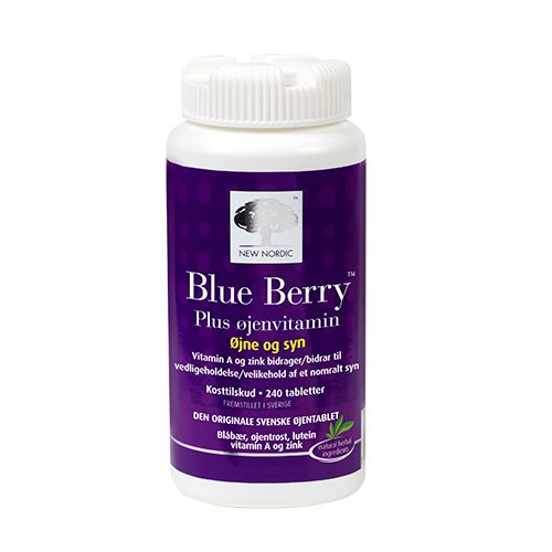 Billede af New Nordic Blue Berry Plus Øjenvitamin - 240 Tabl
