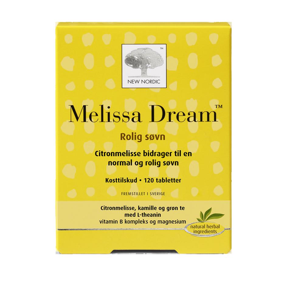 Billede af New Nordic Melissa Dream - 120 Tabl