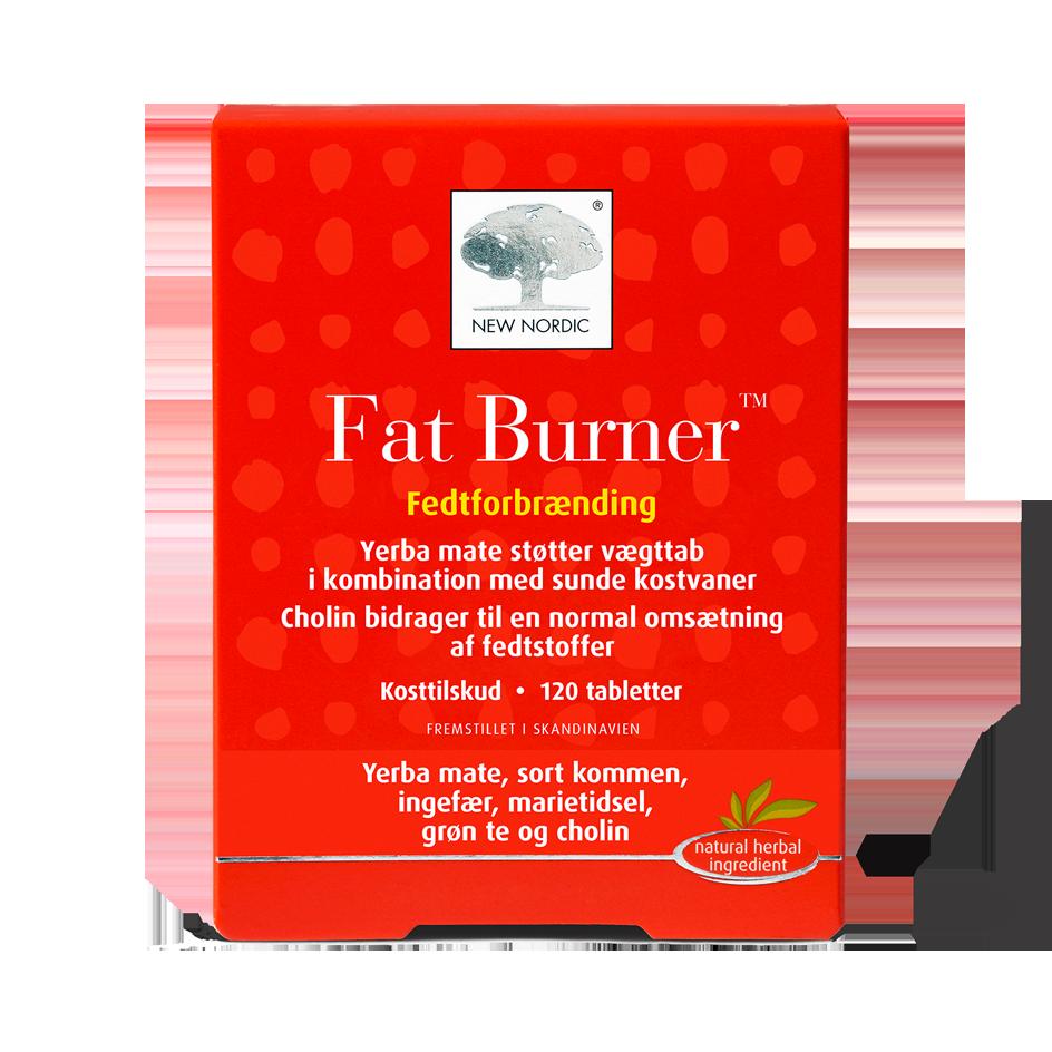 Billede af New Nordic Fat Burner - 120 Tabl