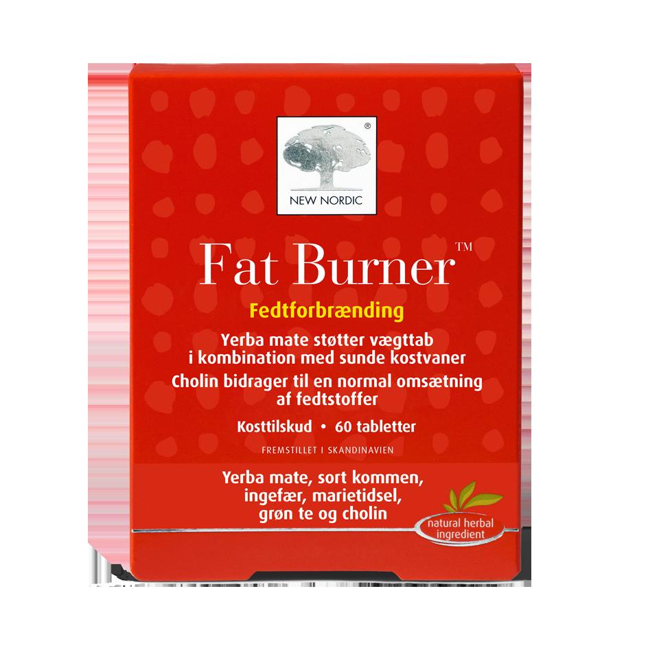 Billede af New Nordic Fat Burner - 60 Tabl
