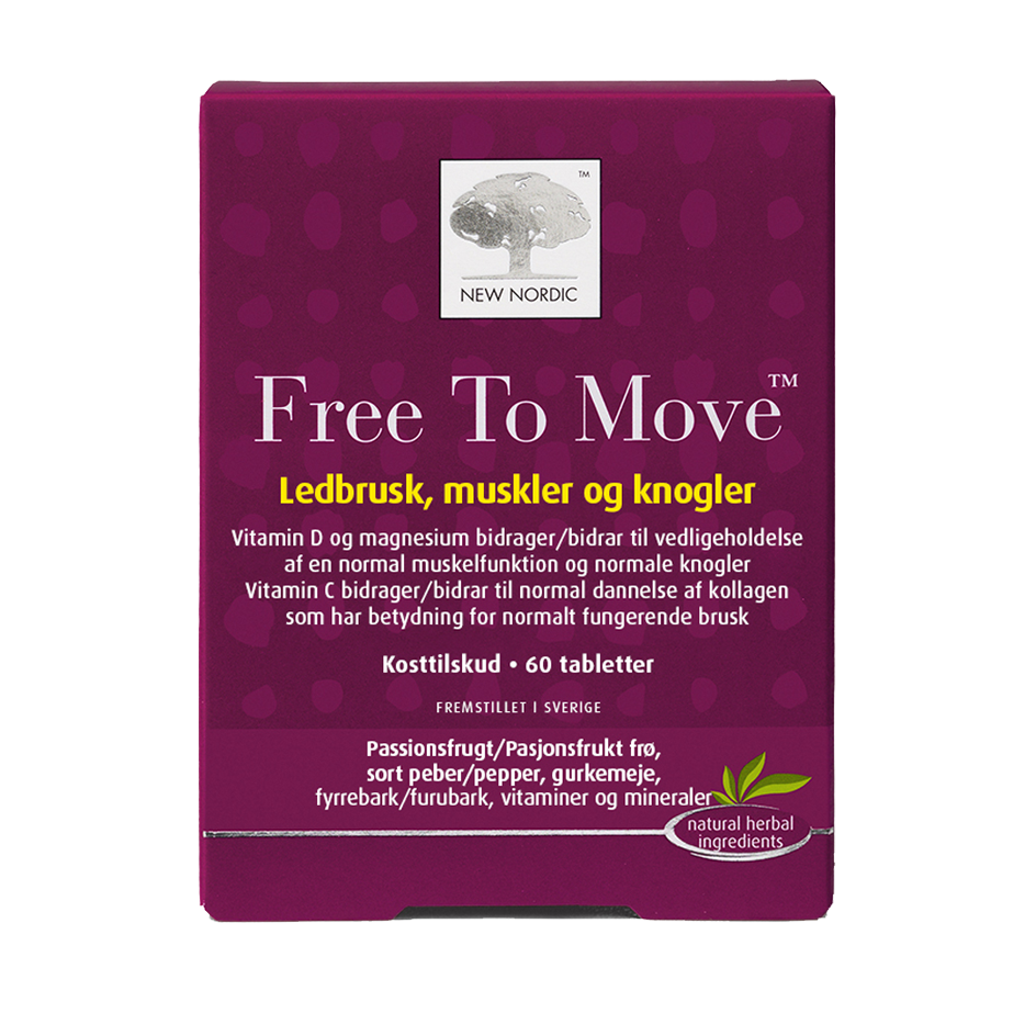 Billede af New Nordic Free To Move - 60 Tabl