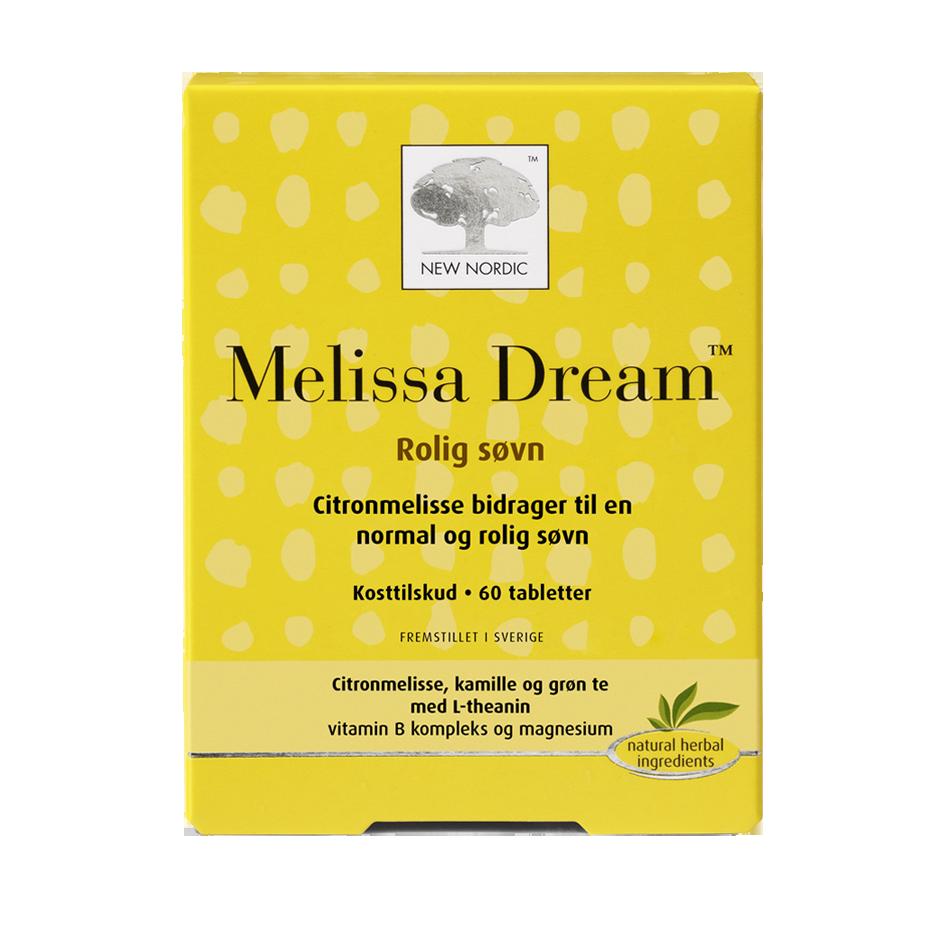 Billede af New Nordic Melissa Dream - 60 Tabl
