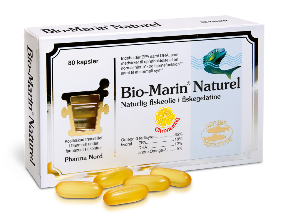 Bio-Marin Naturel fra Pharma Nord - 1000 mg - 80 Kaps