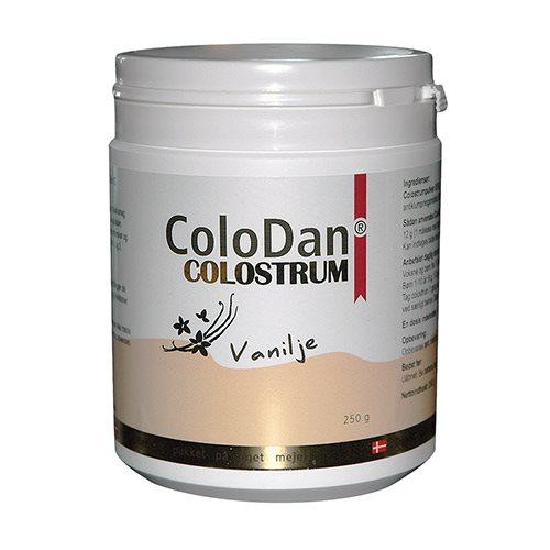 ColoDan Vanilje Colostrum Pulver - 250 G