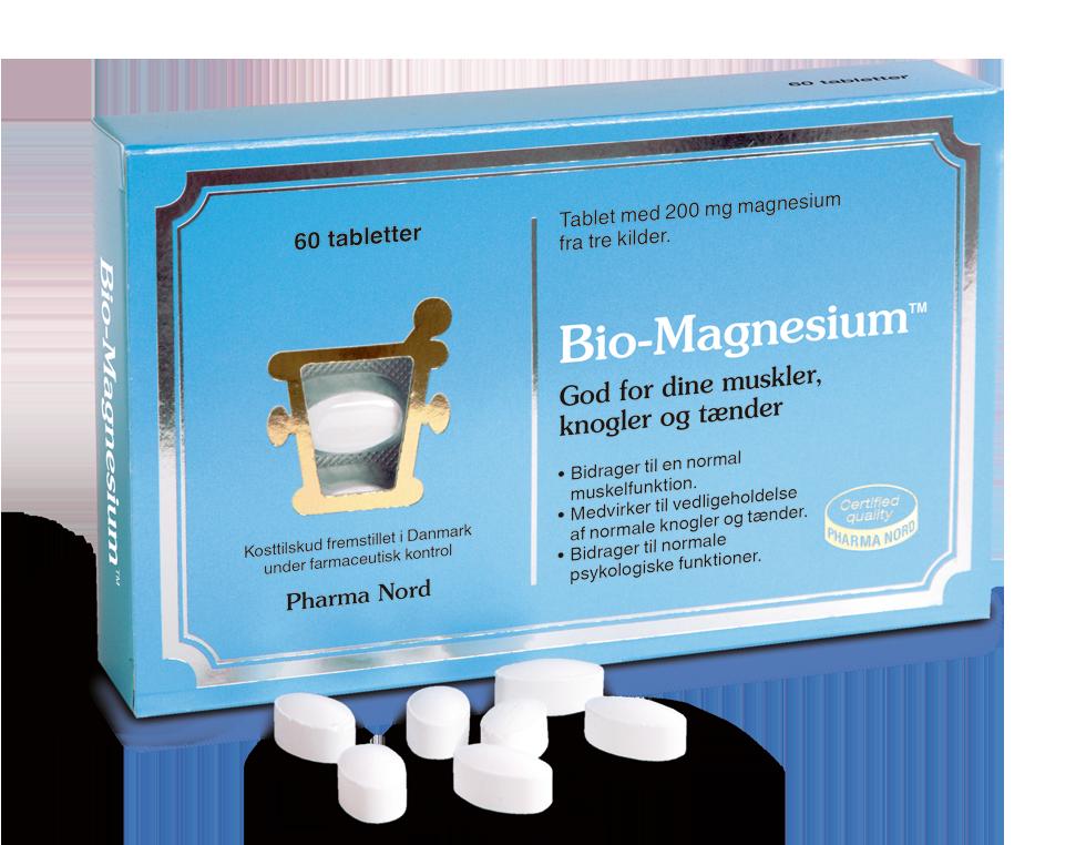 Image of   Bio-Magnesium fra Pharma Nord - 200 mg - 60 Tabl