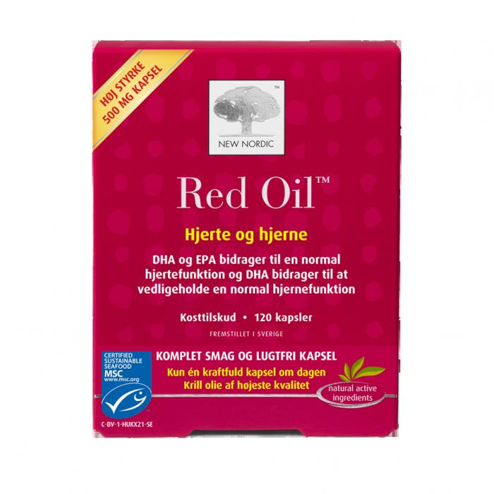 Billede af New Nordic Red Oil - Krill Olie - 120 Kaps