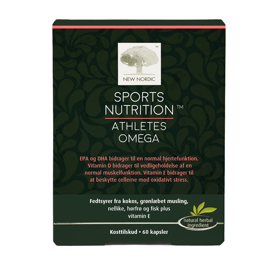New Nordic Sport Nutrition Athletes Omega - 60 Kaps
