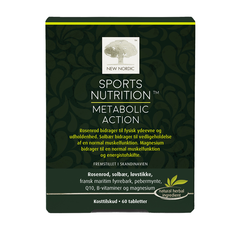 New Nordic Sport Nutrition Metabolic Action - 60 Tabl