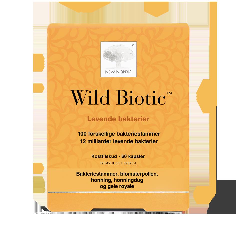 New Nordic Wild Biotic - 60 Kaps