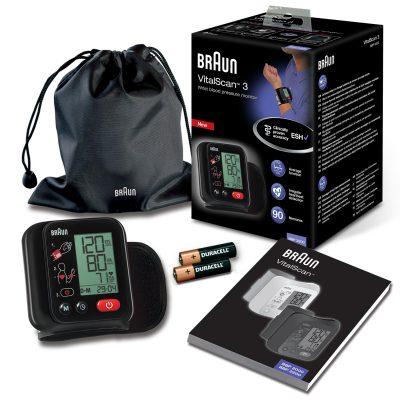 Braun VitalScan 3 Blodtryksmåler til Håndled - 1 Stk.