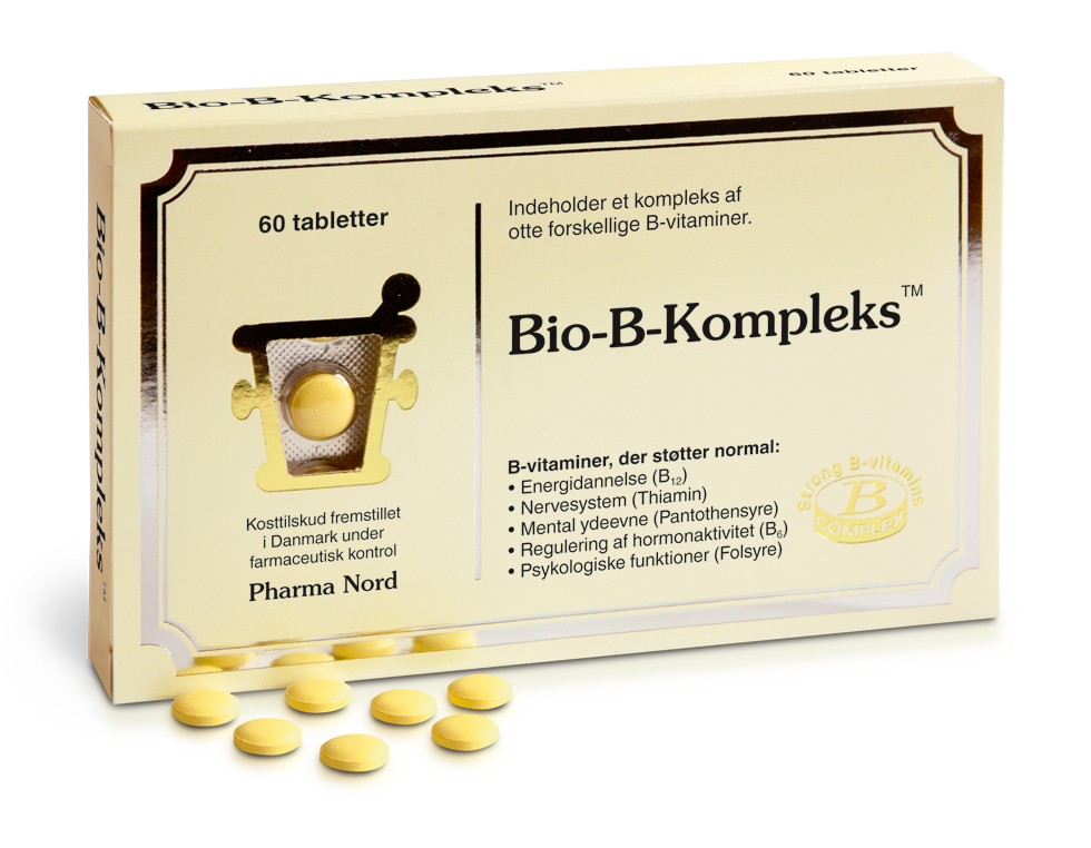 Image of   Bio-B-Kompleks fra Pharma Nord - 60 Tabl