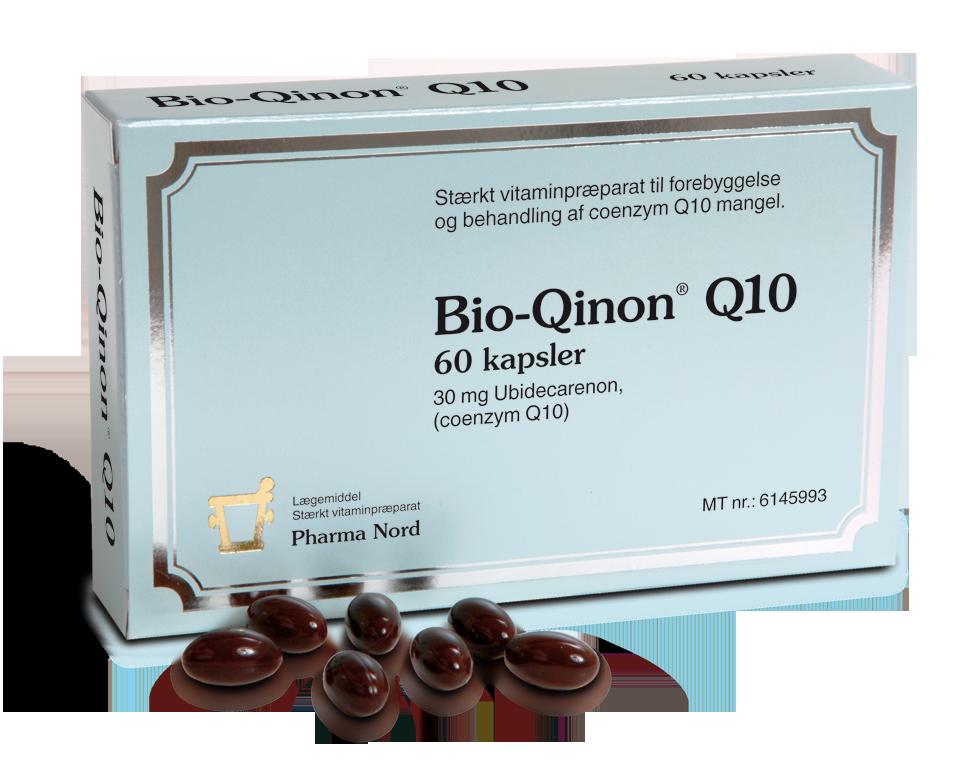 Image of   Bio-Quinon Q10 fra Pharma Nord - 30 mg - 60 Kaps