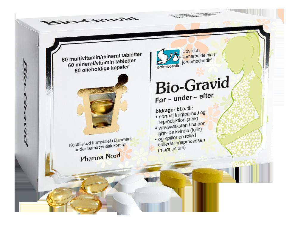 Image of   Pharma Nord Bio-Gravid - 3 Tabl