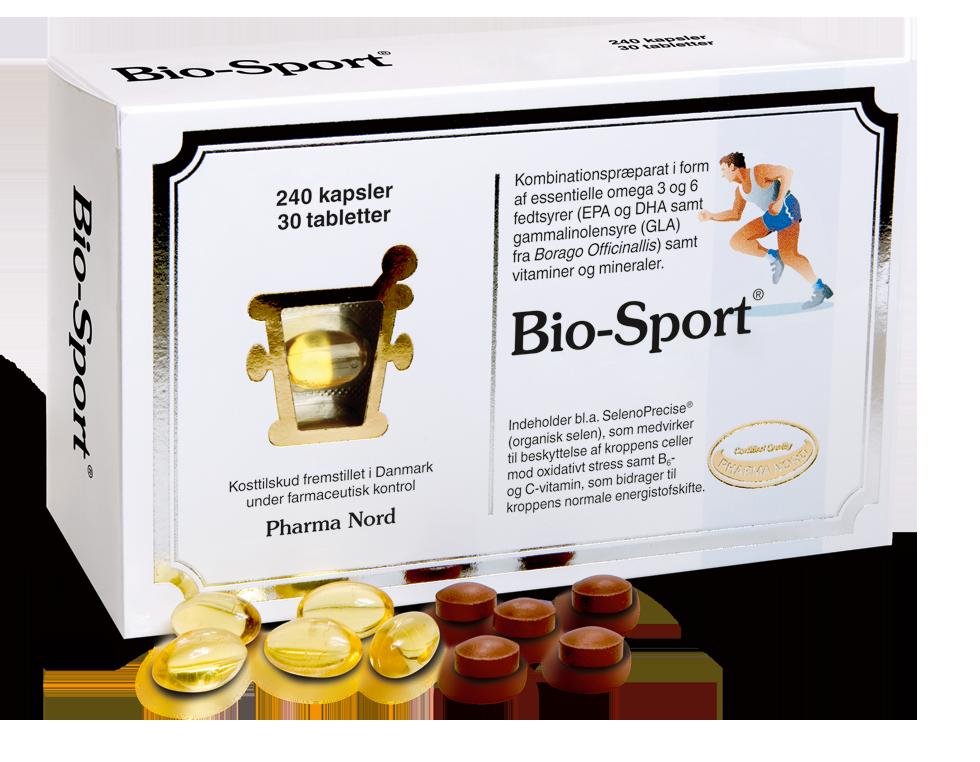 Image of   Pharma Nord Bio-Sport - 30 Tabl - 240 Kaps