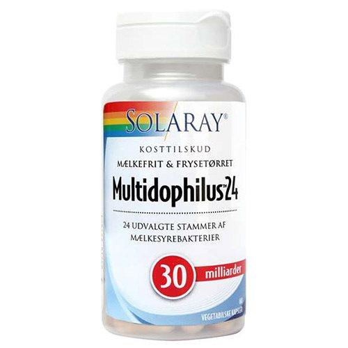Image of   Solaray Multidophilus 24 - 60 Kaps