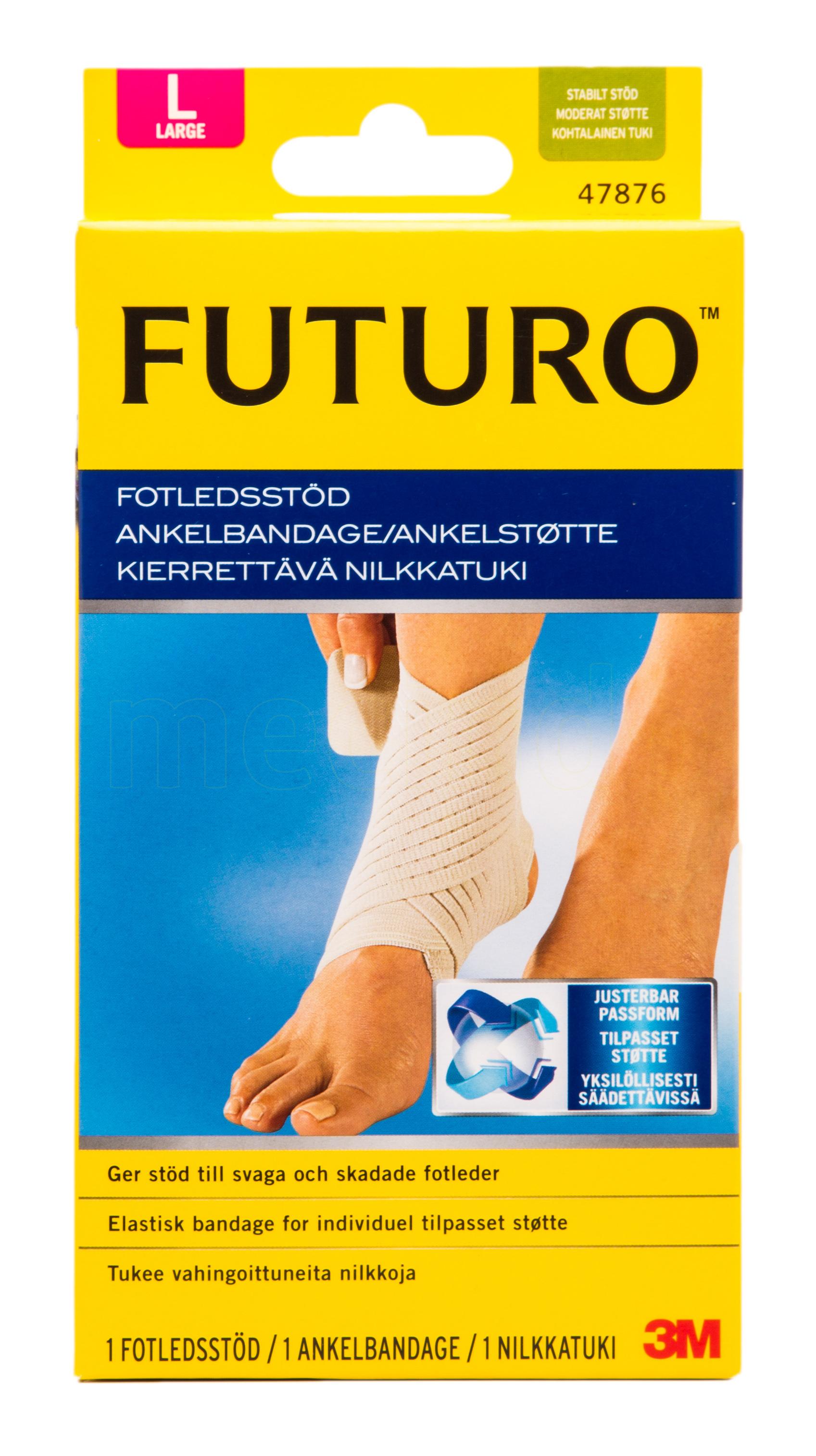 Image of   Futuro Classic Ankelstøtte - Large - 1 Stk.