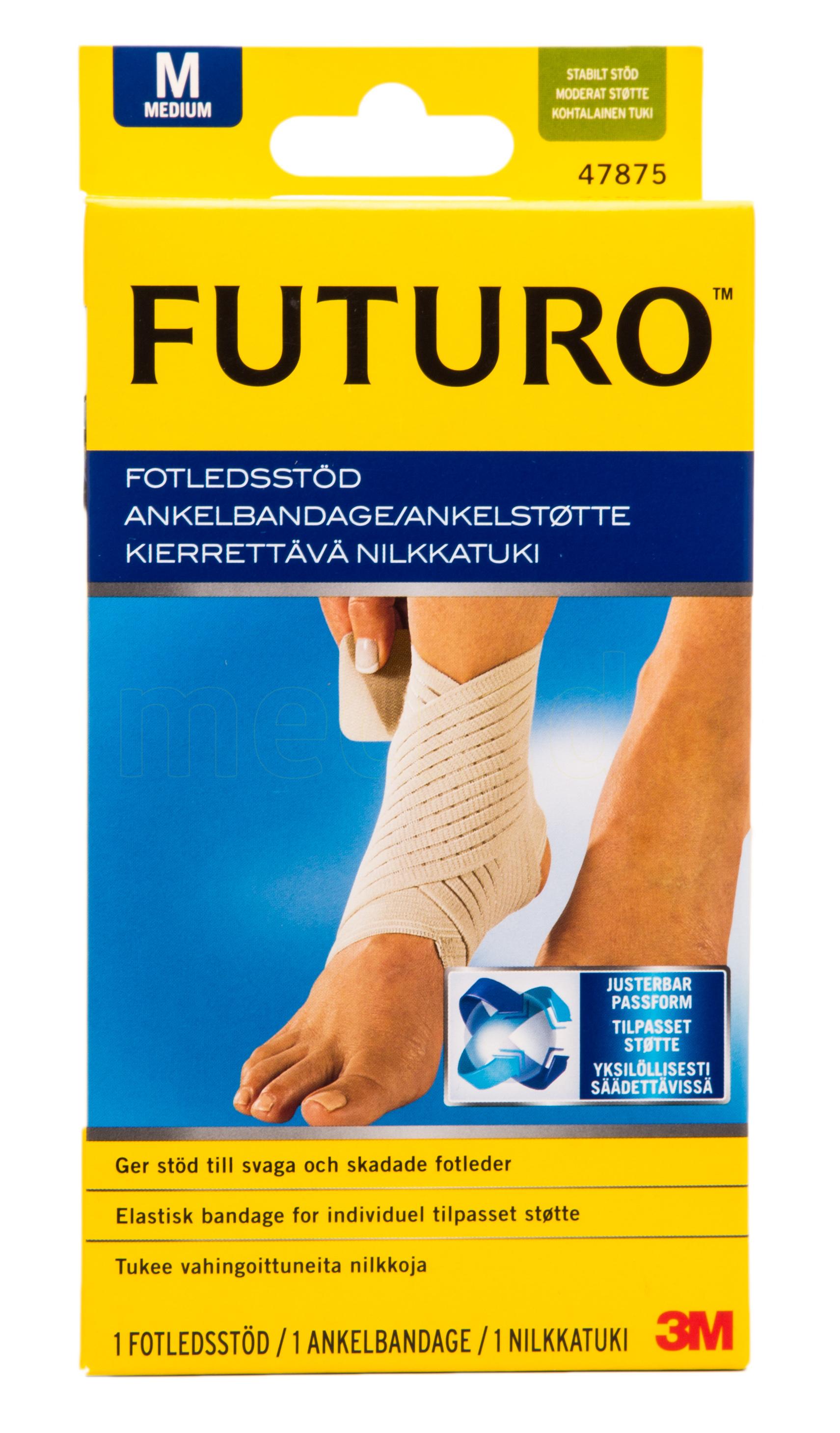 Image of   Futuro Classic Ankelstøtte - Medium - 1 Stk.