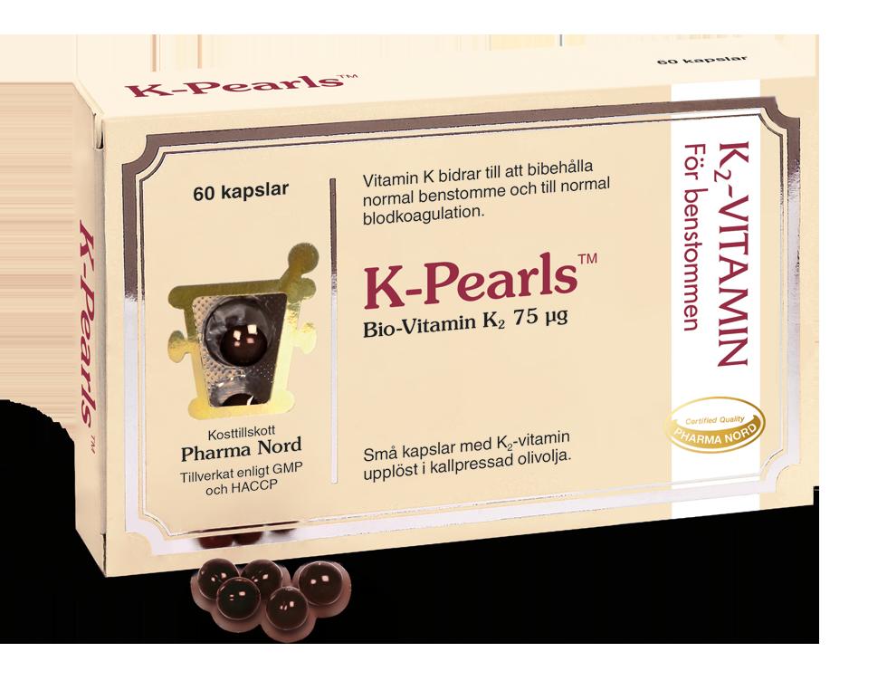 Image of   Pharma Nord K-Pearls - 75 mcg - 60 Kaps