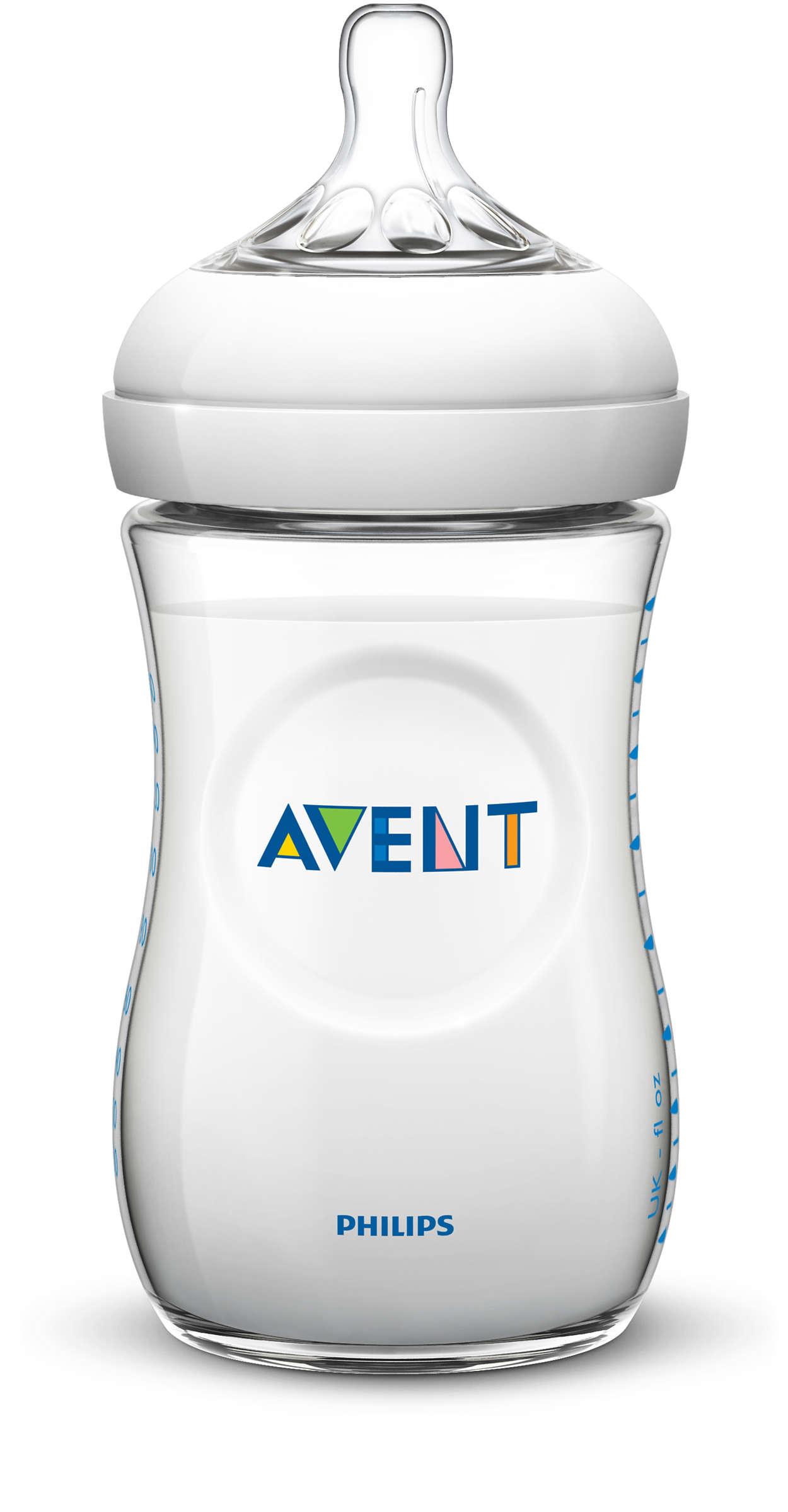 Billede af Philips Avent Natural Sutteflaske - 260 ml - 1 Stk.