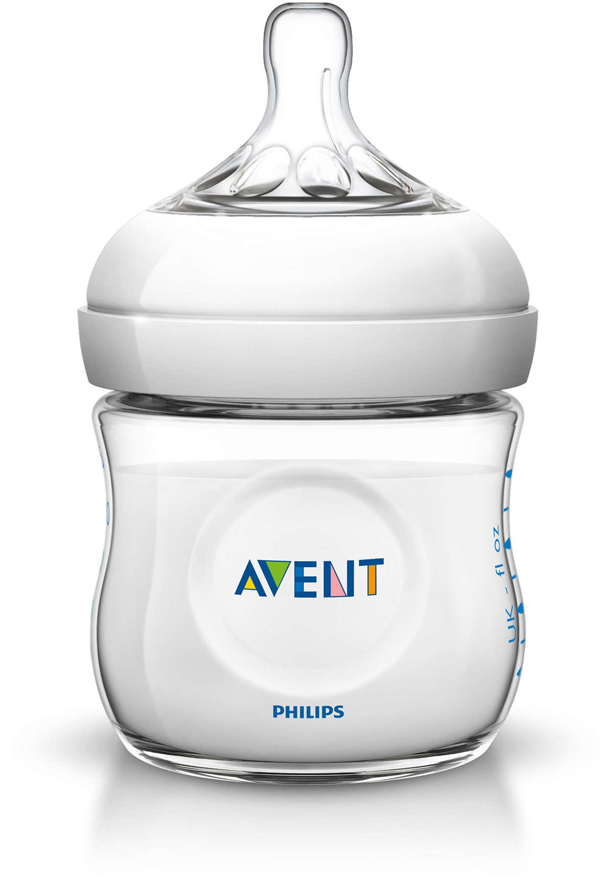 Billede af Philips Avent Natural Sutteflaske - 125 ml - 1 Stk.