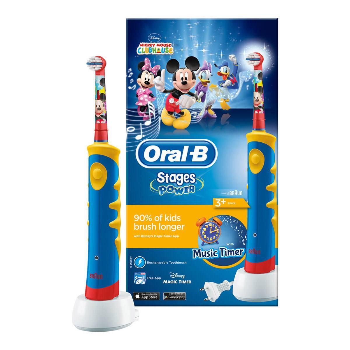 Billede af Oral-B Disney Eltandbørste til Børn - 1 Stk.