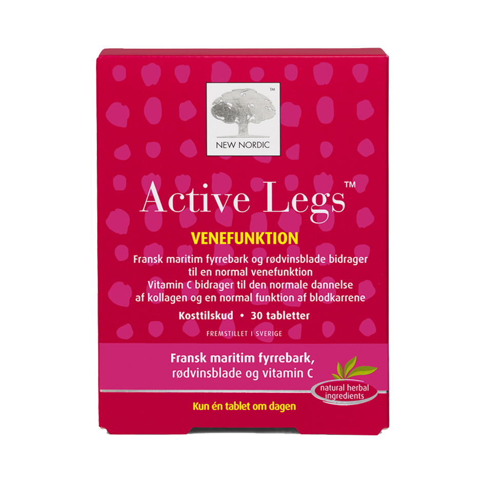 Billede af New Nordic Active Legs - 30 Tabl