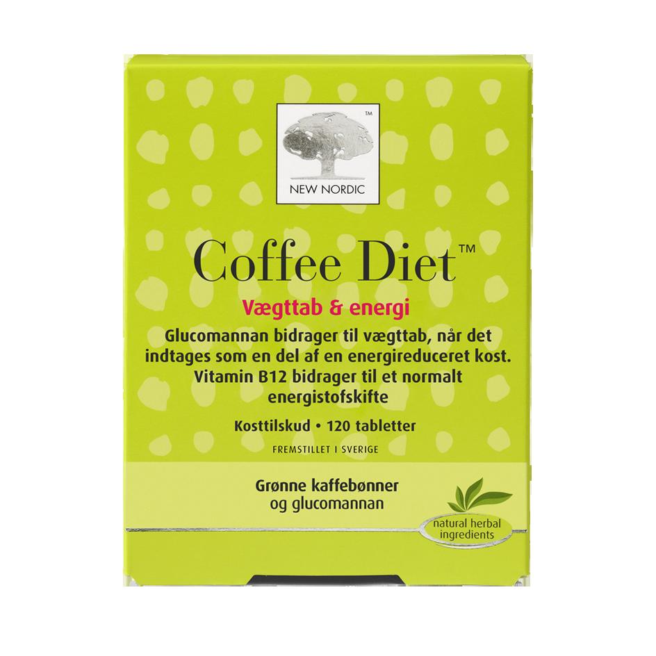 Billede af New Nordic Coffee Diet - 120 Tabl
