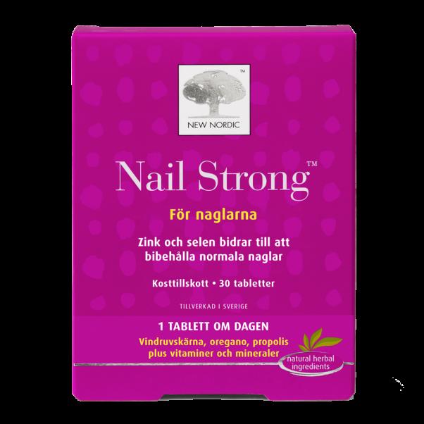 Billede af New Nordic Nail Strong - 30 Tabl