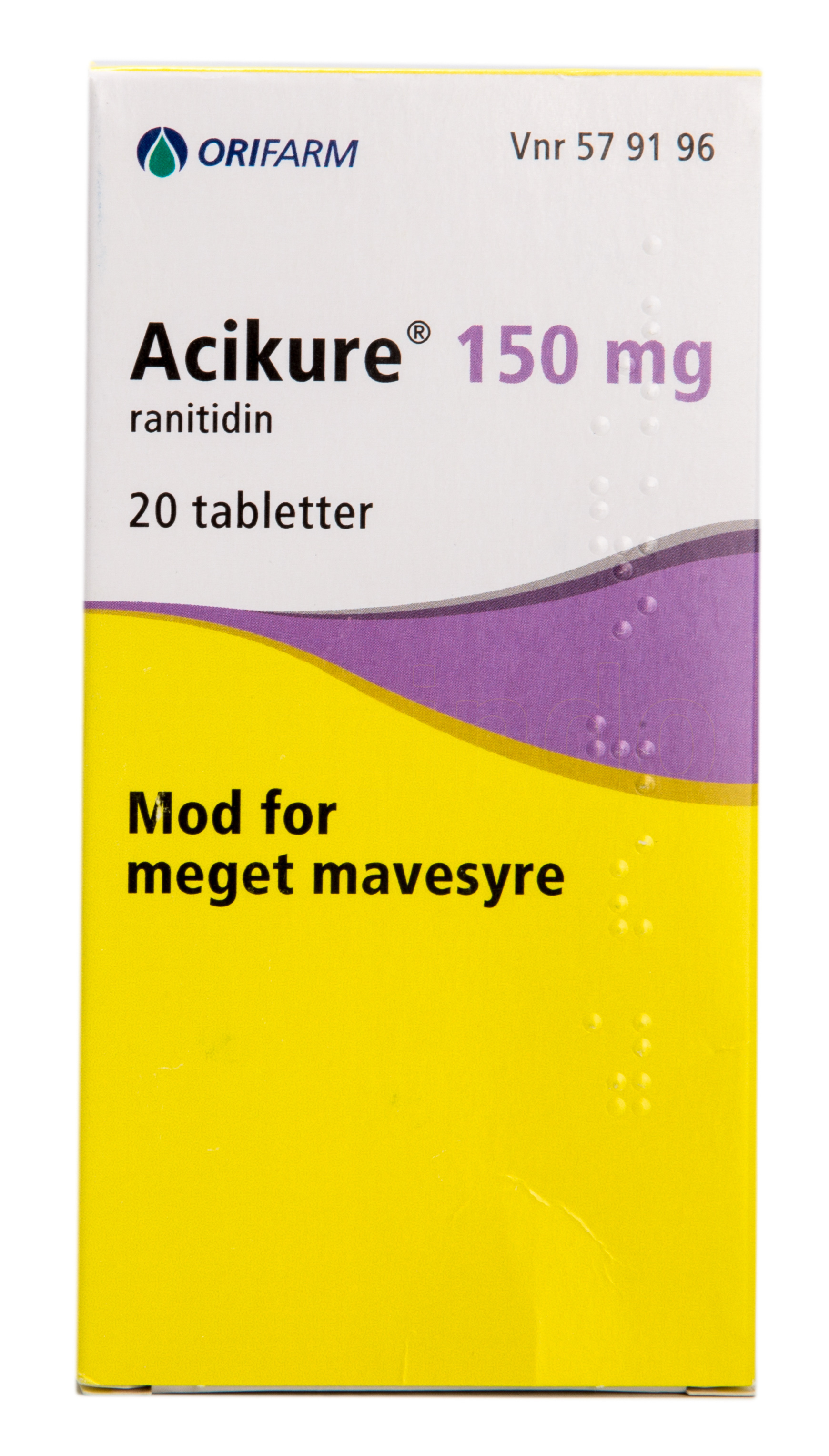 Image of   Acikure - 150 mg - 20 Tabl