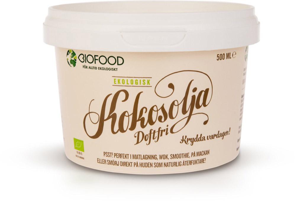 Image of   Biofood Kokosolie Duftfri - 500 ml