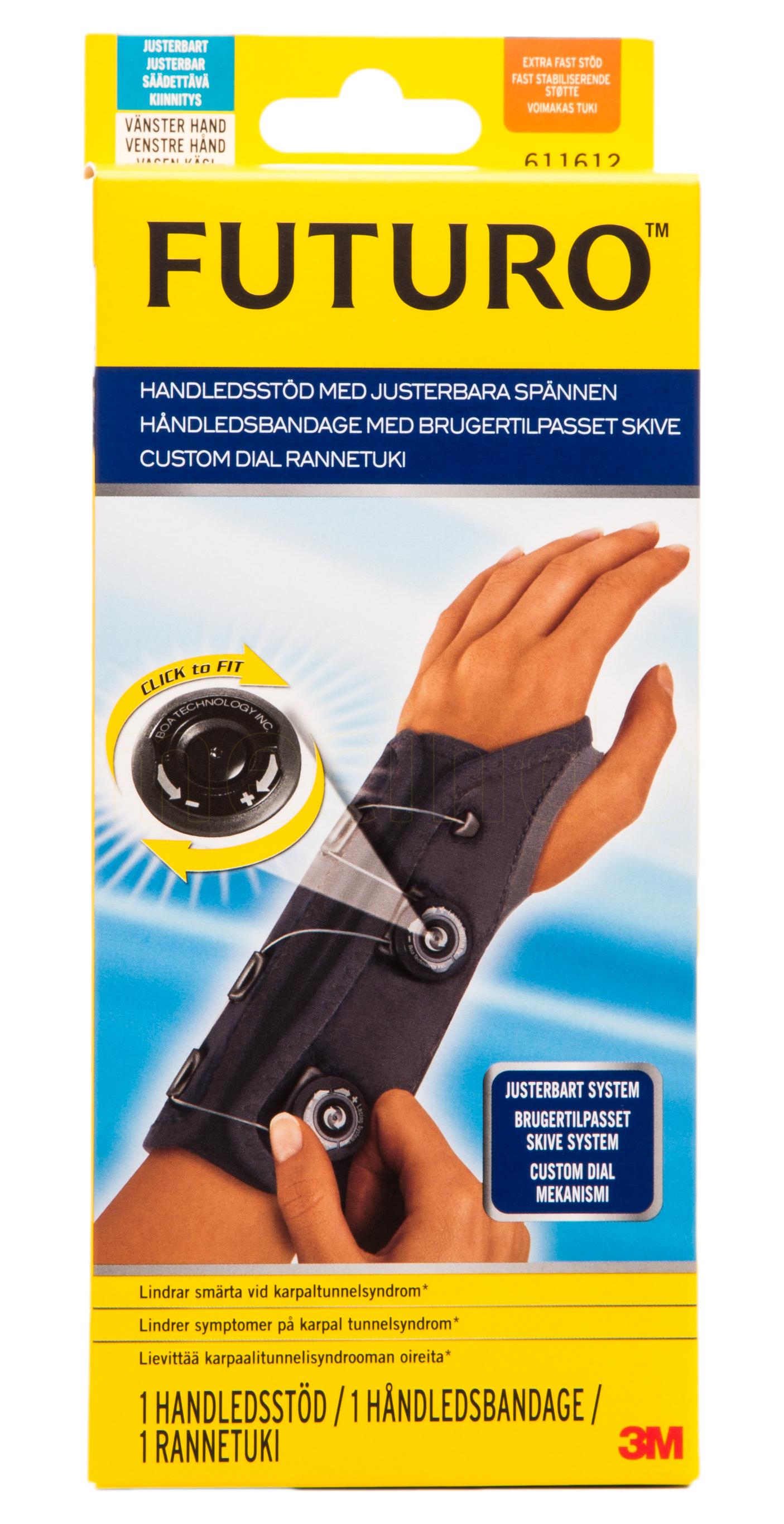 Billede af Futuro Custom Dial Håndledsstøtte - 1 Ones - 1 Stk.