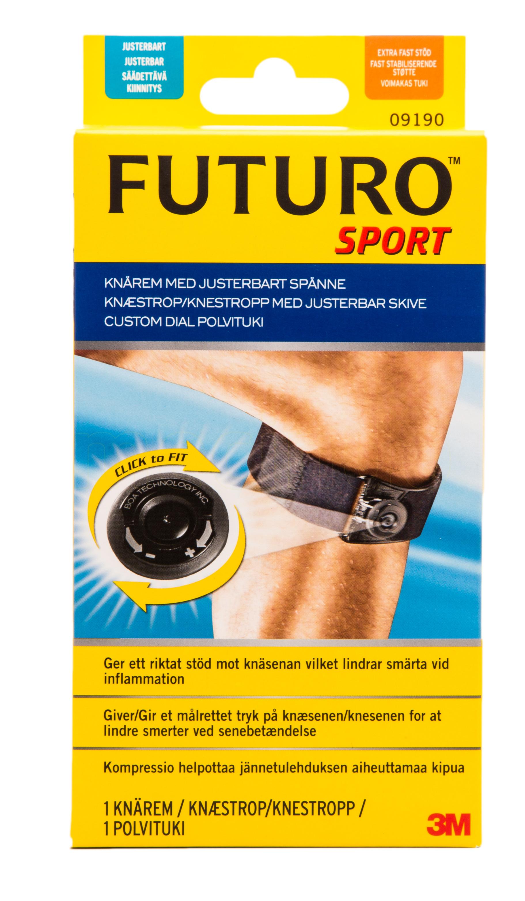 Billede af Futuro Sport Custom Dial Knæstrop - 1 Ones - 1 Stk.