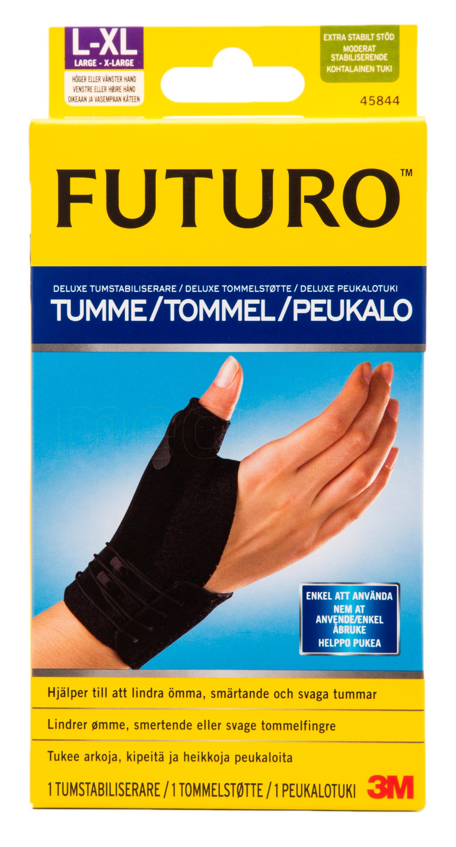 Billede af Futuro Deluxe Tommelfingerstøtte - L/XL - 1 L / - 1 Stk.