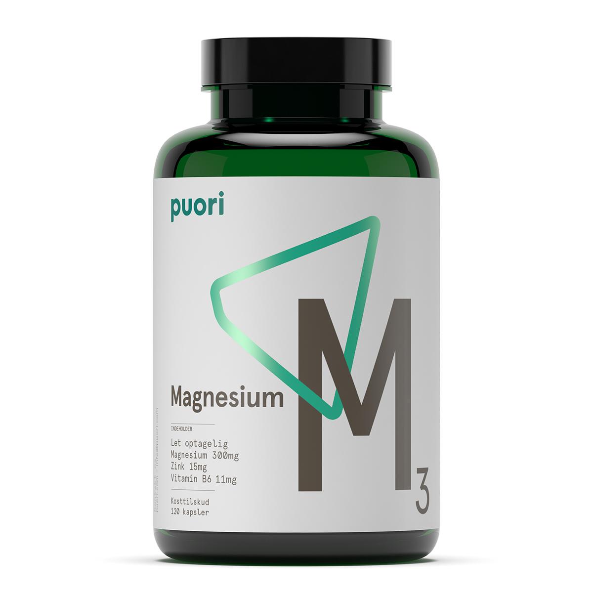 Puori magnesium fra Mecindo